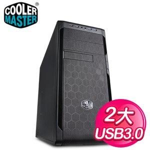 Cooler Master 酷碼【N300升級版】ATX電腦機殼《黑》