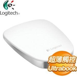 Logitech 羅技 T630 超薄觸控滑鼠《白》
