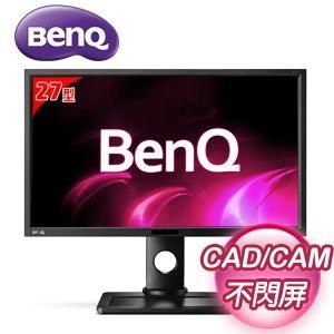 BenQ 明基 BL2710PT 27型 可旋轉 不閃屏 專業繪圖液晶螢幕