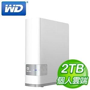 WD 威騰 2TB My Cloud NAS 網路儲存伺服器