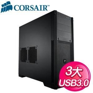 Corsair 海盜船 【300R】 USB3.0 黑3大 電腦機殼
