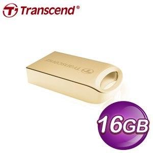 Transcend 創見 JF510G 16G 隨身碟《金色》