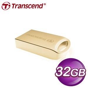 Transcend 創見 JF510G 32G 隨身碟《金色》