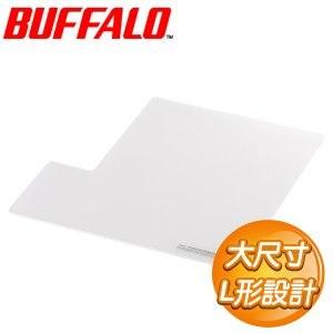 Buffalo 巴比祿 大尺寸超薄防滑鼠墊《白色》