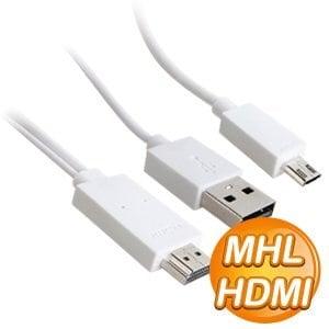 MHL to HDMI 轉接線(白)