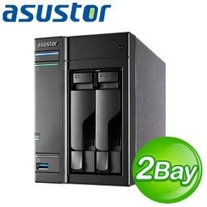 ASUSTOR 華芸 AS-202TE 2Bay NAS 網路儲存伺服器