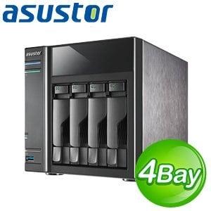 ASUSTOR 華芸 AS-204TE 4Bay 網路儲存伺服器