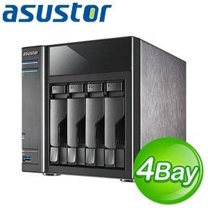 ASUSTOR 華芸 AS-304T 4Bay NAS 網路儲存伺服器