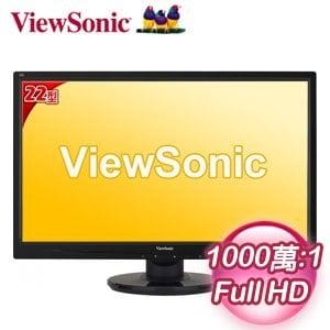 ViewSonic 優派 VA2246m 22型 Full HD 超高畫質LED螢幕