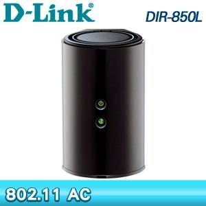 D-Link 友訊 DIR-850L 無線雙頻分享器《黑》