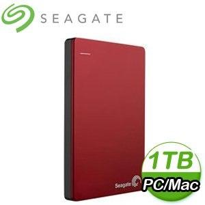 Seagate 希捷 Backup Plus Slim 1TB 2.5吋 USB3.0 外接式硬碟《紅》