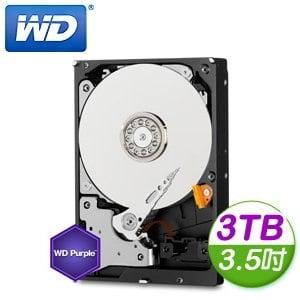 WD 威騰 Purple 3TB 3.5吋 5400轉 64M快取 SATA3紫標硬碟(WD30PURX)