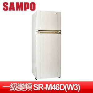 SAMPO 聲寶 455L一級變頻冰箱 SR-M46D(W3)