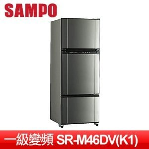 SAMPO 聲寶 455L一級變頻三門冰箱 SR-M46DV(K1)