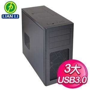 LIAN LI 聯力【PC-7HX】黑3大 電腦機殼