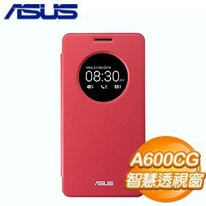 ASUS 華碩 A600CG View Flip Cover 穿透式彩殼《紅》