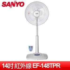 SANYO 三洋 14吋微電腦遙控立扇 (EF-148TPR)