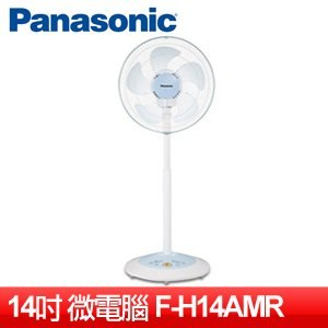 Panasonic 國際牌 14吋微電腦立扇《粉彩藍》F-H14AMR