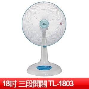 東亮 18吋營業用桌扇 (TL-1803)