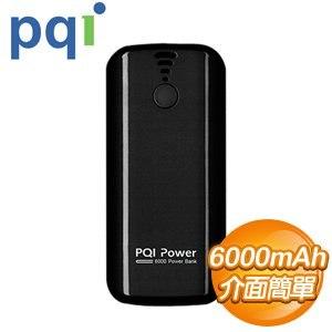 PQI i-Power 6000T 6000mAh 行動電源《黑色》