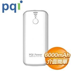 PQI i-Power 6000T 6000mAh 行動電源《白色》
