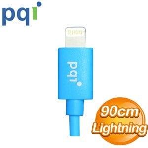 PQI i-Cable Lightning 90cm 圓線《藍色》