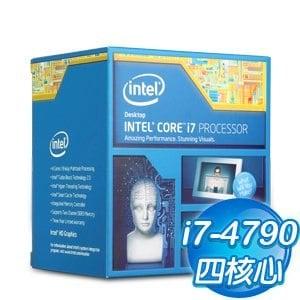 Intel第四代 Core i7-4790 四核心處理器《3.6Ghz/LGA1150》(代理商貨)