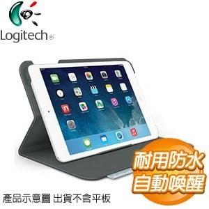 Logitech 羅技 iPad mini 超薄折疊保護組《黑》