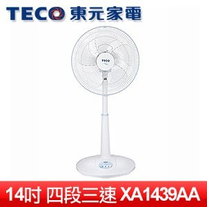 TECO 東元 14吋機械式立扇 (XA1439AA)