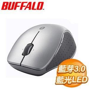 Buffalo 巴比祿 B14 藍光LED 藍芽3.0+NFC 無線滑鼠《銀》