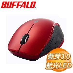 Buffalo 巴比祿 B14 藍光LED 藍芽3.0+NFC 無線滑鼠《紅》