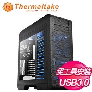 Thermaltake 曜越 Core V71 透側 黑2大 電腦機殼