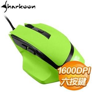 Sharkoon 旋剛 追風者 電競滑鼠《綠》