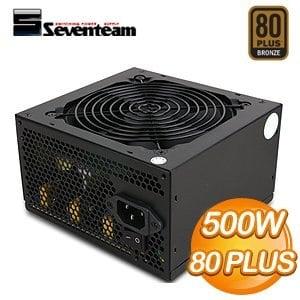 Seventeam 七盟 500W 82+ PAT系列 電源供應器(ST-500PAT)