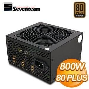 Seventeam 七盟 800W 82+ PAT系列 電源供應器(ST-800PAT)