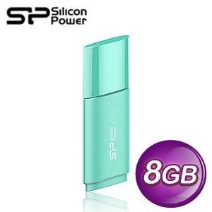 Silicon Power 廣穎 Ultima U06 8G 隨身碟《湖水藍》