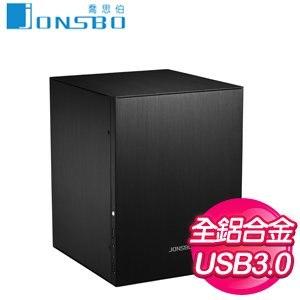 JONSBO 喬思伯 C2B Micro-ATX 機殼《黑》