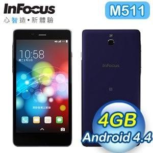 InFocus M511 5吋 四核心 LTE 單卡手機《紫》