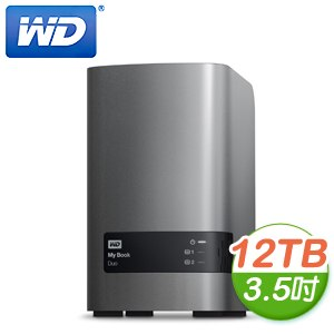 WD 威騰 My Book Duo 12TB (6TBX2) 3.5吋 外接式雙硬碟機