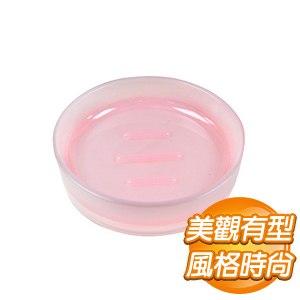 品韻雙色肥皂盤-粉