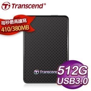 Transcend 創見 ESD400 512G 1.8吋 USB3.0 外接式固態硬碟