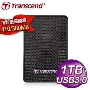 Transcend 創見 ESD400 1TB 1.8吋 USB3.0 外接式固態硬碟