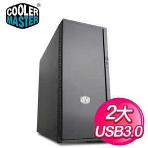 Cooler Master 酷碼 Silencio 452 /USB3 黑2大靜音機殼