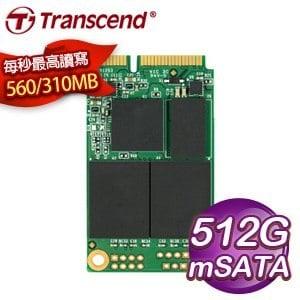 Transcend 創見 MSA370 512G mSATA 3 SSD 固態硬碟