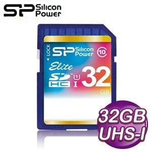 Silicon Power 廣穎 Elite 32G SDHC(CL10) UHS-I 記憶卡