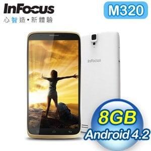 InFocus M320 5.5吋 八核心雙卡手機《香檳金》