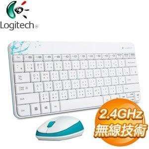 Logitech 羅技 MK240 無線鍵鼠組《白》