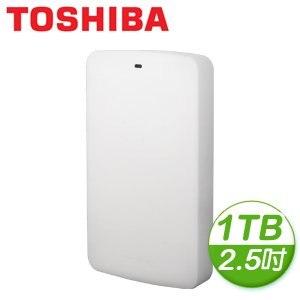 Toshiba 東芝 白靚潮II 1TB USB3.0 2.5吋行動硬碟