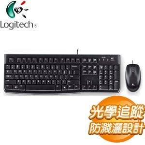 Logitech 羅技 MK120 USB鍵盤滑鼠組