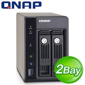 QNAP 威聯通 TS-253 Pro Turbo NAS 網路儲存伺服器